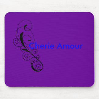 SwirlFreebie061509, Cherie Amour Mouse Pad