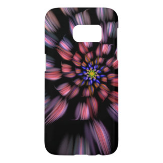 Swirling Abstract Flower Eye Catching Samsung Galaxy S7 Case