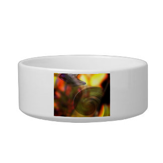 Swirling Abstract of Colors Pet Bowls