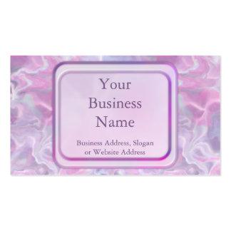 Swirling Batik Business Card Template