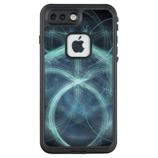 Swirling Blue Electrical Charge LifeProof FRĒ iPhone 7 Plus Case