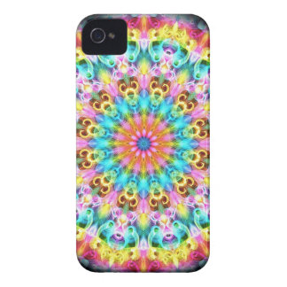swirling bright rainbow Case-Mate iPhone 4 case