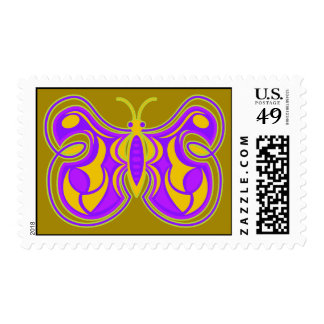 Swirling Butterfly Postage