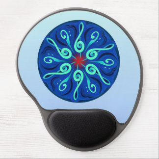 Swirling Clefs Gel Mouse Pad