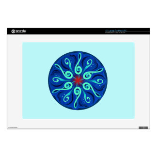Swirling Clefs Laptop Decals