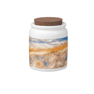 Swirling Clouds of Jupiter Candy Dish