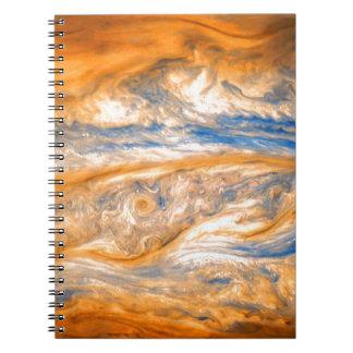 Swirling Clouds of Jupiter Notebook