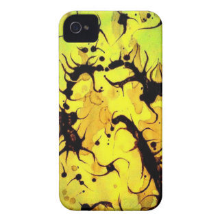 Swirling Coffee Art Design iPhone 4 Cover