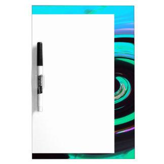 Swirling colors, Wirbelnde Farben 002 Dry Erase Board