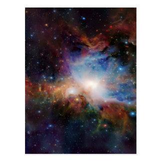 Swirling Cosmos Postcard