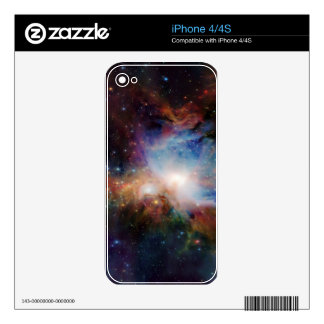 Swirling Cosmos Skin For The iPhone 4