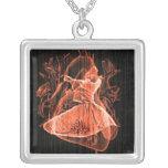 Swirling Dervish Necklace
