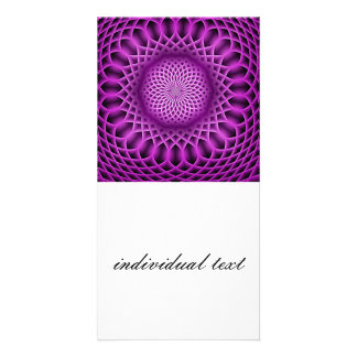 Swirling dreams, hot pink (I) Card