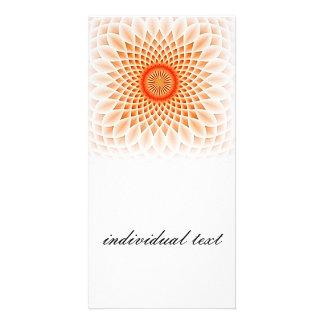 Swirling dreams,peach(I) Card