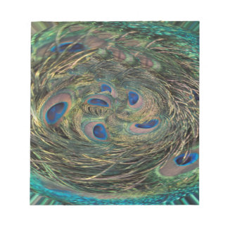 Swirling Feathers Note Pads