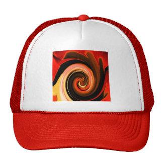 Swirling Flames Trucker Hat