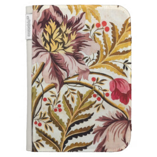 Swirling Floral Case For Kindle