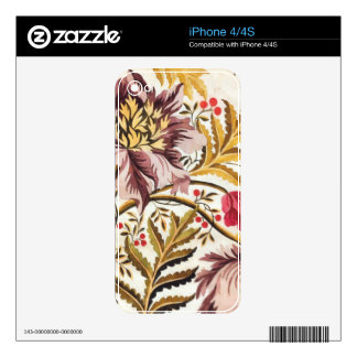 Swirling Floral iPhone 4 Skin