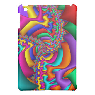 Swirling Fun abstract fractal iPad case