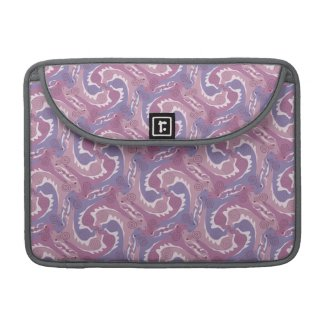 Swirling Hares Tesselation purple Sleeve 5 Sleeve For MacBook Pro