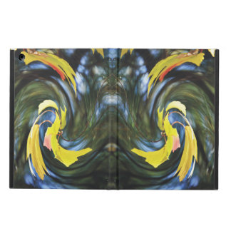 Swirling Leaves Illusions Cover For iPad Air