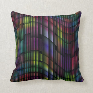 """Swirling Lines"" Pattern Throw Pillow"
