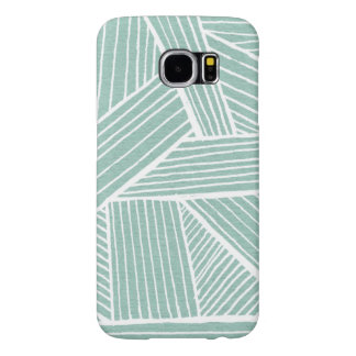 Swirling Lines Samsung Galaxy S6 Case