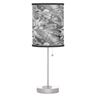 Black And White Marble Table Amp Pendant Lamps