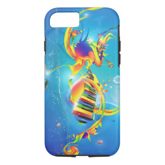 Swirling Music iPhone 8/7 Case