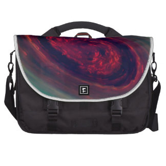 Swirling North Pole of Saturn Commuter Bags
