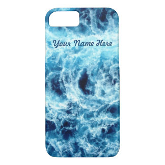 Swirling Sea Personalized iPhone 7 Case