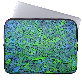 "Swirling Seas 13"" Laptop Sleeve"
