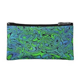 Swirling Seas Bagettes Makeup Bag