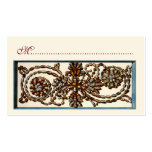 Swirling Shells Seating Cards Double-Sided Standard Business Cards (Pack Of 100)