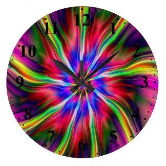 Swirling Star  Wall Clock