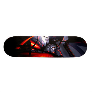 Swirling Venom Abstract Skateboard