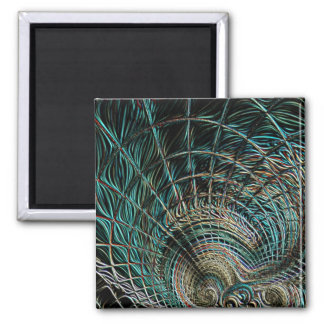 Swirling Vortex Abstract Tornado Magnet