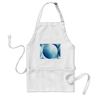 Swirling winds on the blue planet aprons