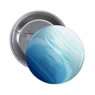 Swirling winds on the blue planet pinback button