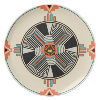 Swirling Winds Dinner Plates