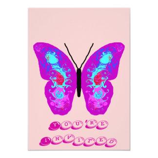 Swirling Wings Butterfly Card