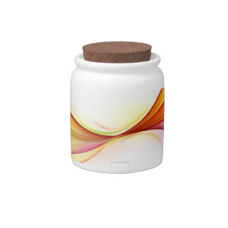 Swirls 2 candy jar