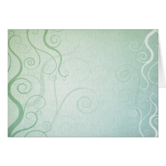 Swirls 4 card