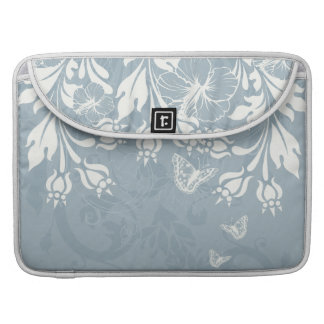 Swirls and Butterflies Macbook Pro Sleeve