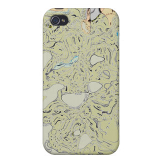 Swirls and eddys cases for iPhone 4