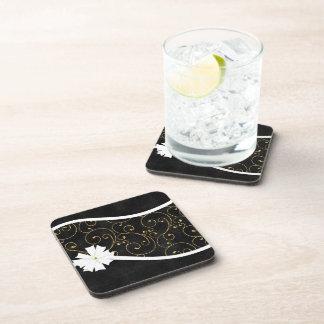 Swirls and Glitters Beverage Coaster