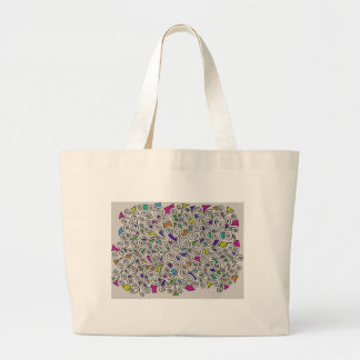 Swirls and Pieces Design Tote Bag