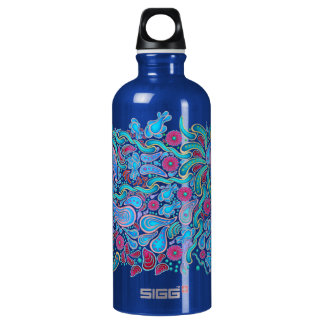 Swirls and Squiggles Water Bottle