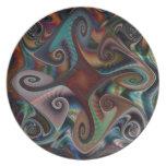Swirls and Twirls Plate