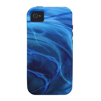 Swirls Blue iPhone 4/4S Cover